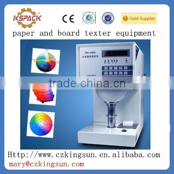 JGTM-06008 test machine for laboratory equipement paper tester/industrial products color tester paper Color Meter