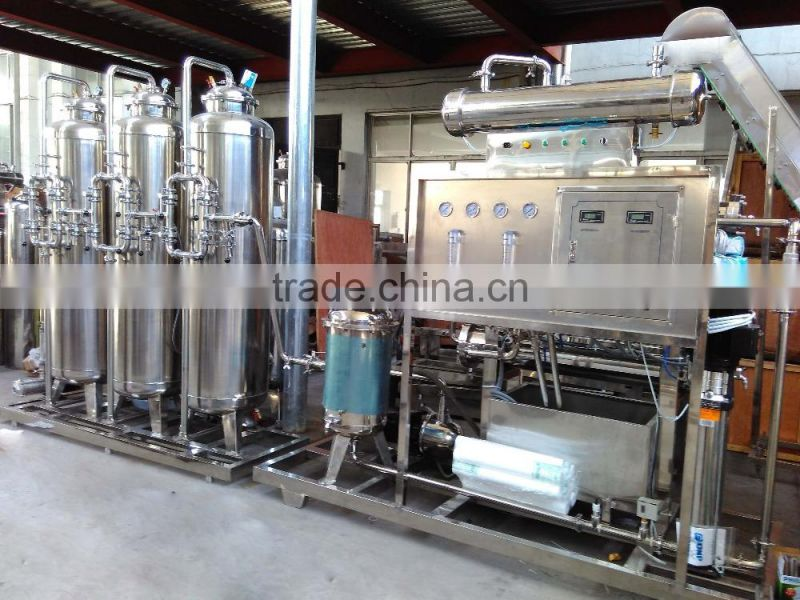 RO water treatment plant purifier 2000LPH