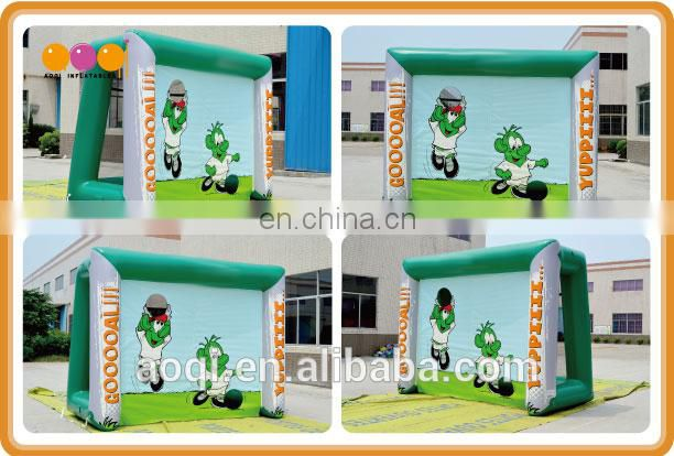 Inflatable football toss game/Inflatable football game for adults with free EN14960 certificate