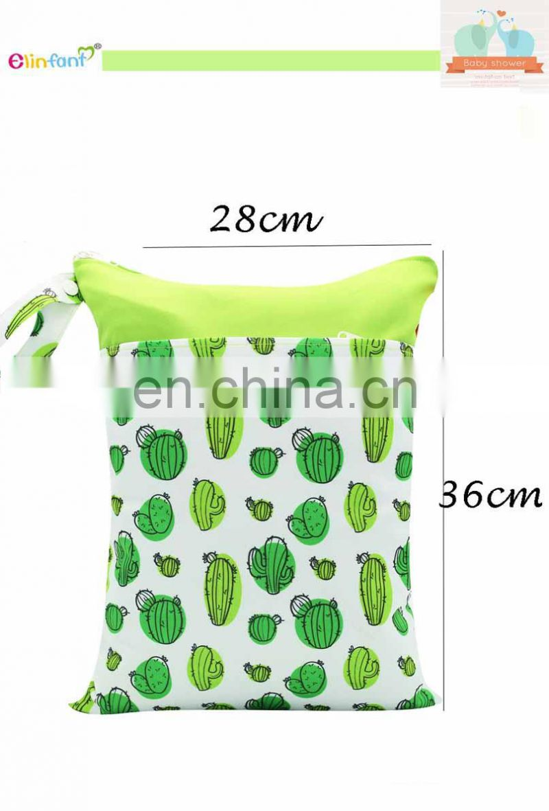 Wholesale waterproof wetbag recycled washing diaper bag resuable laundry bags
