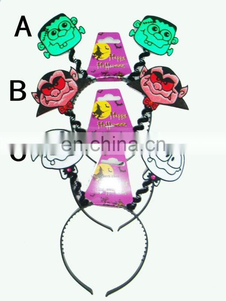 Assorted design character made halloween head buckle for party decoration
