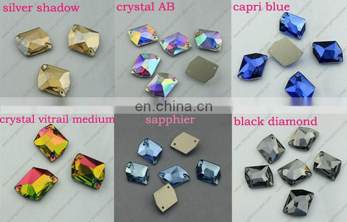 Wholesale Flat Back Sew on Crystal Beads Loose Rhinestones from DONGZHOU CRYSTAL