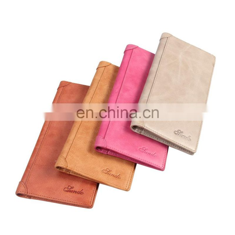 Hot Selling Mobile Phone Wallet Case Leather