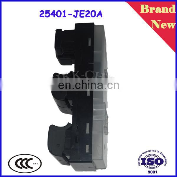 Auto Electric Window Master Switch Power lifter Switch 25401-JE20A for Japanese Cars Infiniti M35 M45