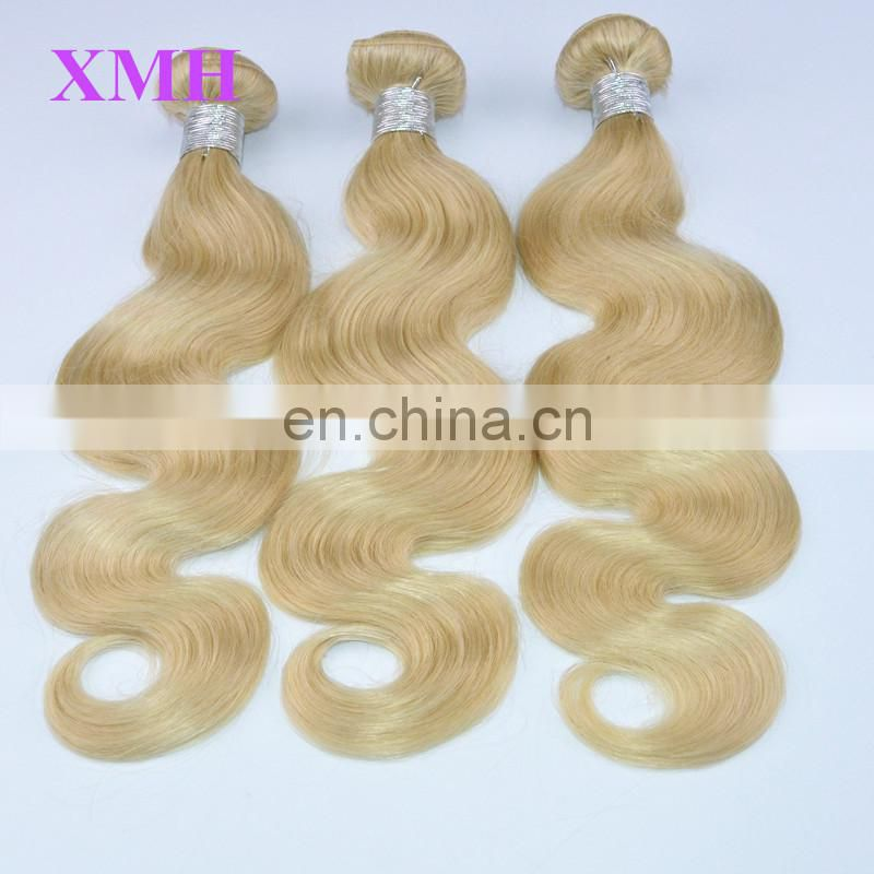 Hot Selling And Charming Blonde Brazilian Hair Weaving Body Wave