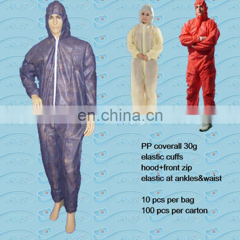 CE CAT3 TYPE 5 6 disposable SMS/SMMS coverall
