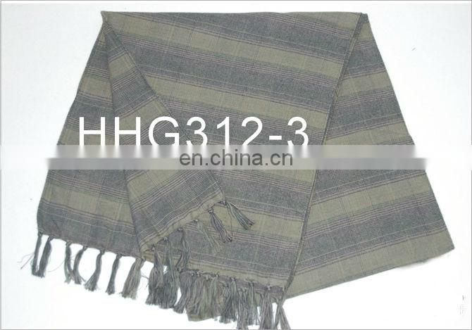 Casual Winter and Autumn Man Brushed Cotton Scarf