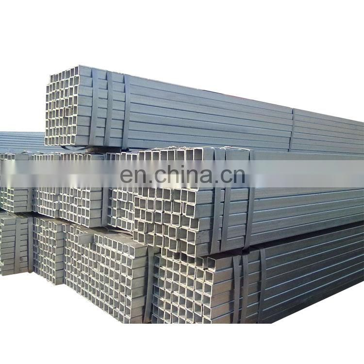 Hollow structure section square steel pipe price