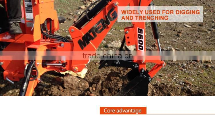 Professional new backhoe price with low price of Backhoe
