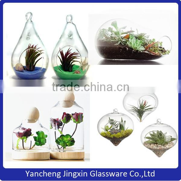Wholesale Bamboo Bottom With Borosilicate Glass Cover With Integrated Empty Ball