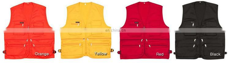 High quality multi-color cheap Fishing Vest