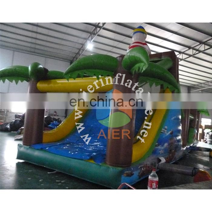 Factory price inflatable obstacle course equipment for adult pirate jungle outdoor obstacle course equipment for sale