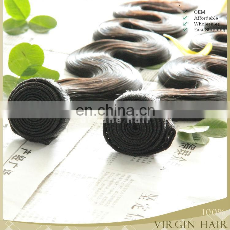 China factory wholesale price high quality cheap mink brazilian hair weave bundles