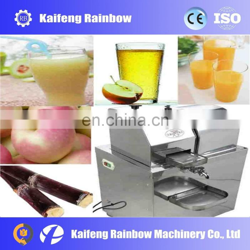 New design stainless steel sugarcane juicer with juice safety requirements