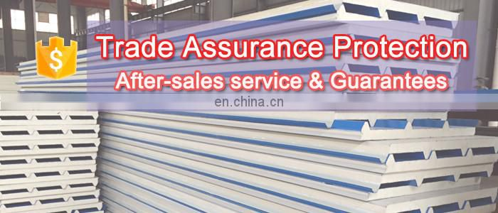 Building material insulated ISO CE roof wall pu sandwich panel price