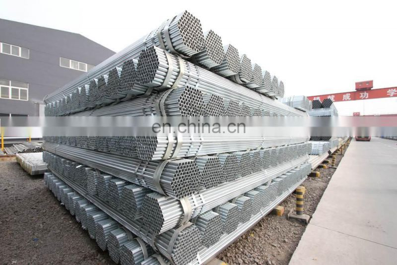 6 inch 4 inch schedule 40 galvanized steel greenhouse gi pipe with round shape