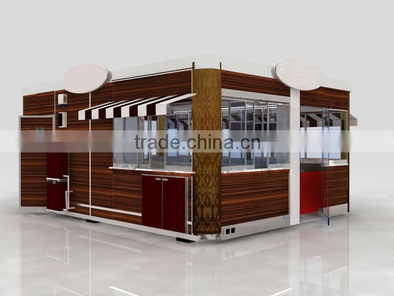 Free 3d max designed restaurant interior design, container mobile restaurant, food containers restaurant