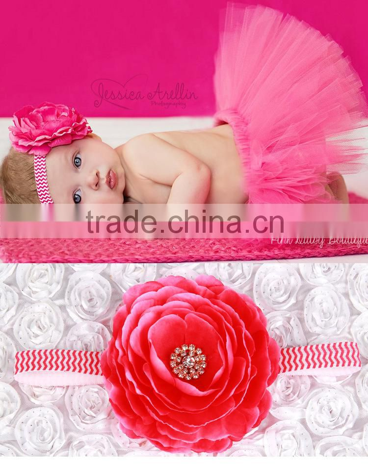 2016 newest baby girl tutu skirts and headband set hot selling pettiskirt tutu freeshipping for custome party wedding SD--10 Image