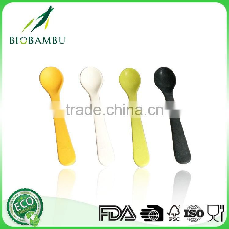 Food grade Advertising Customized bamboo fiber spoon