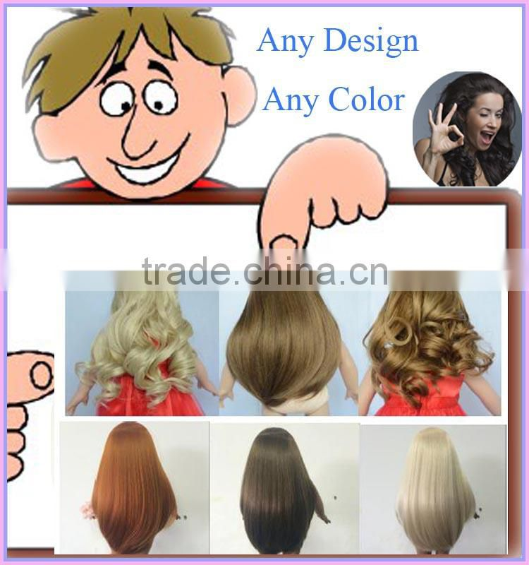 American Girl Style Synthetic Wigs Baby Doll Wigs Of Doll