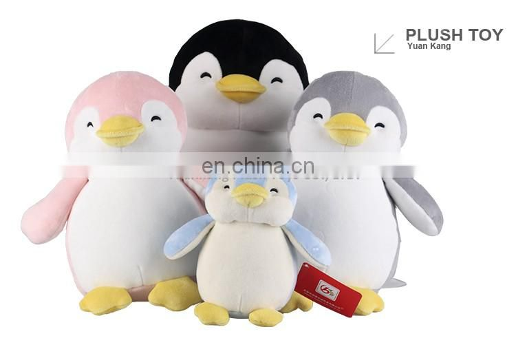 ODM Sea Animal Plush Penguin Soft Toy For Kids