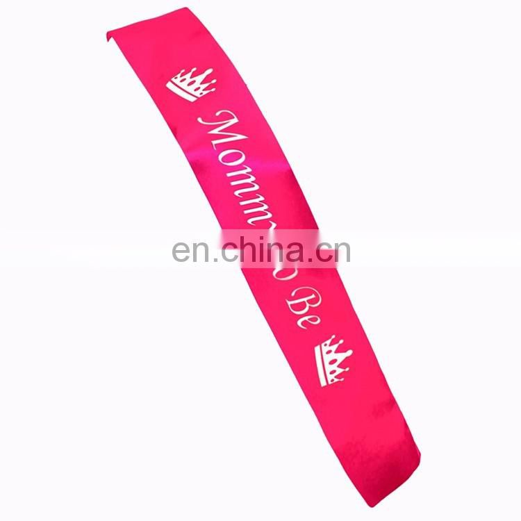 hot sale fashion bachelorette party suppliers hen do party night braut satin sash