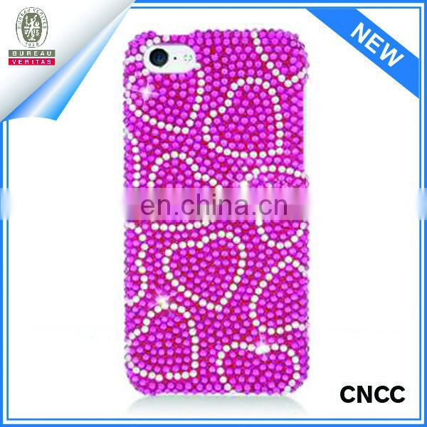 Rhinestone case for cell phone
