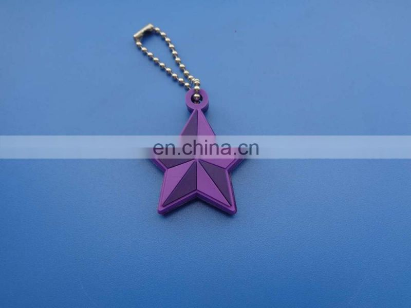 3d people shape with guitar custom personality logo rubber silicone decoration bag pendant
