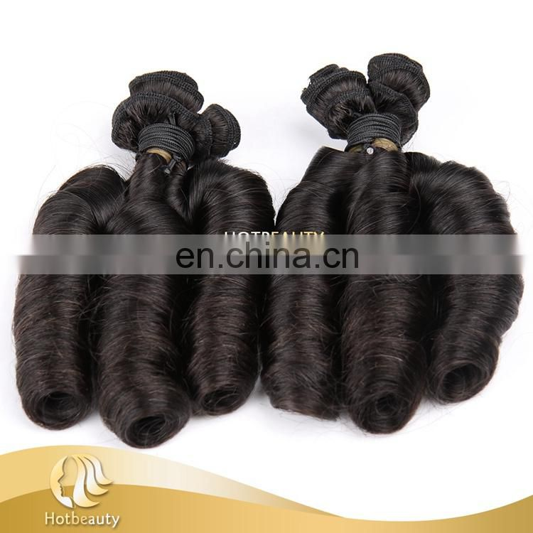 Top Quality Wholesale 110g Natural Black Magical Curl Brazilian Virgin Hair On Sale