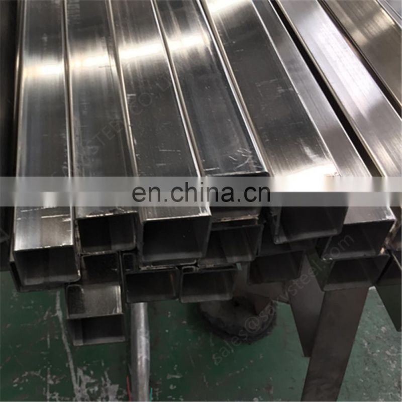 316L stainless steel square tube 2.5 inch