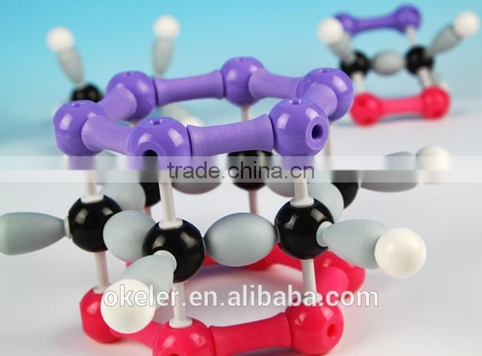 2016Chemistry Lab Experiments Atom Covalent Crystal Diamond Model Molecular Kit