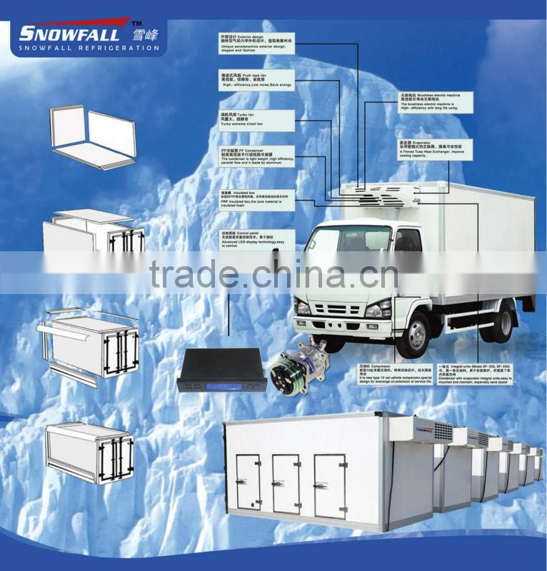 refrigerated truck bodyTruck Body Parts insulated truck box