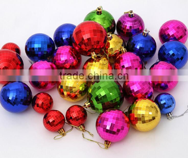 Plastic/glass Decoration Christmas ball Out door decorations