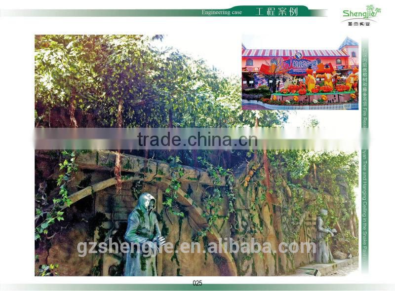 bonsai artificial plants,party decoration, shengjie artificial purple perilla for wholesale