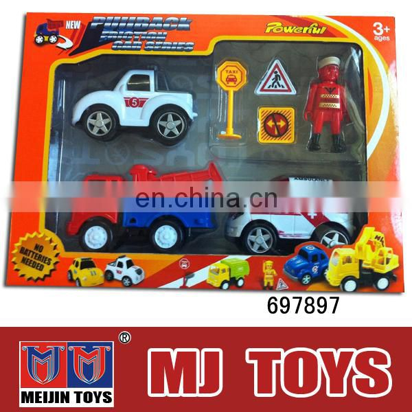 Friction CAR TOY parking toy series MINI intelligent diy model car toy