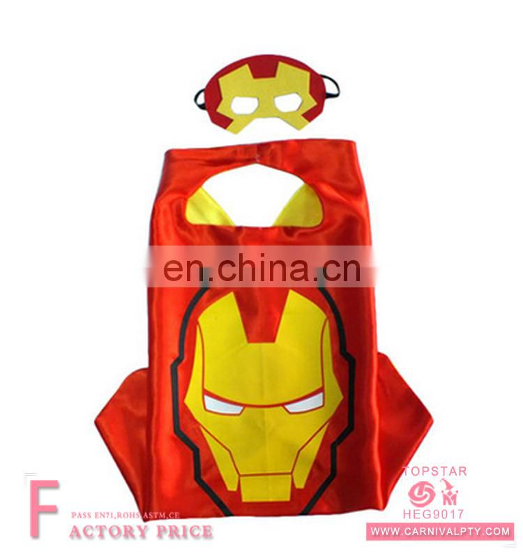 Halloween Carnival Party Iron Man wonderwoman gothic victorian cape