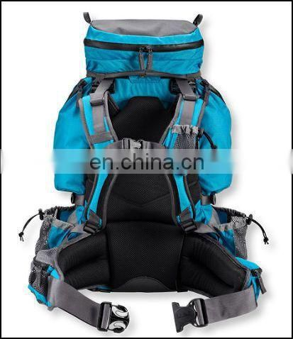 China Guanghzou color customized climbing backpack