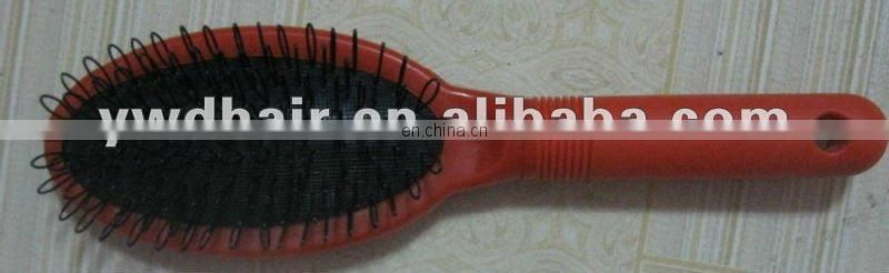 Wholesale price red color higher quality fusion hair extension wig brush