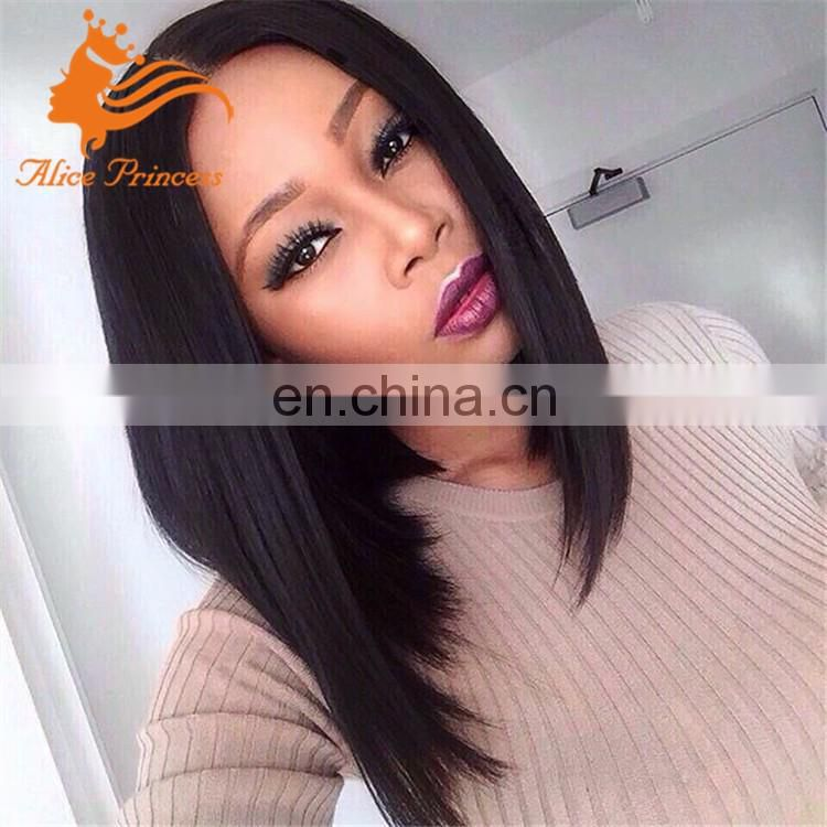 grade 8a lace wig silky straight full lace wig 150 density bob style human hair lady gaga wigs on sale