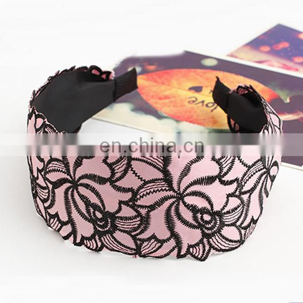 Trendy wholesale wide lady headband