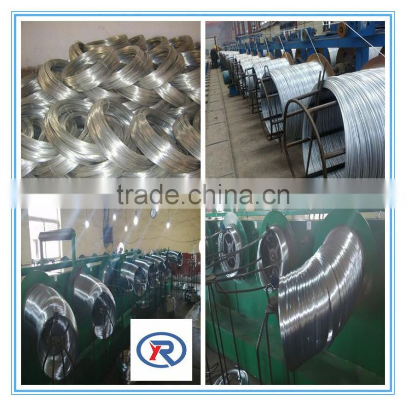 China supplier wire iron galvanized electro or hot dipped for construction