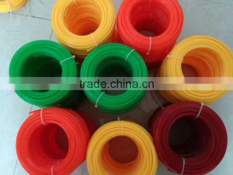 nylon grass cutter line for gasoline brush cutter grass trimmer