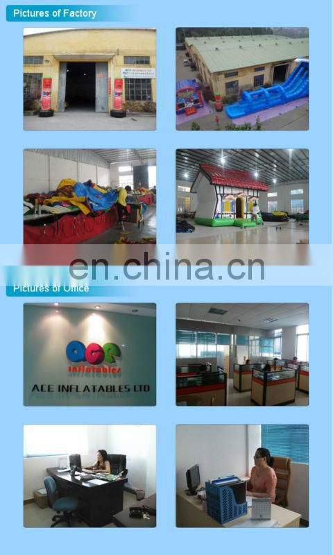 alibaba best sellers Inflatable Fun City Dry Slide ,inflatable obstacle course For Fun