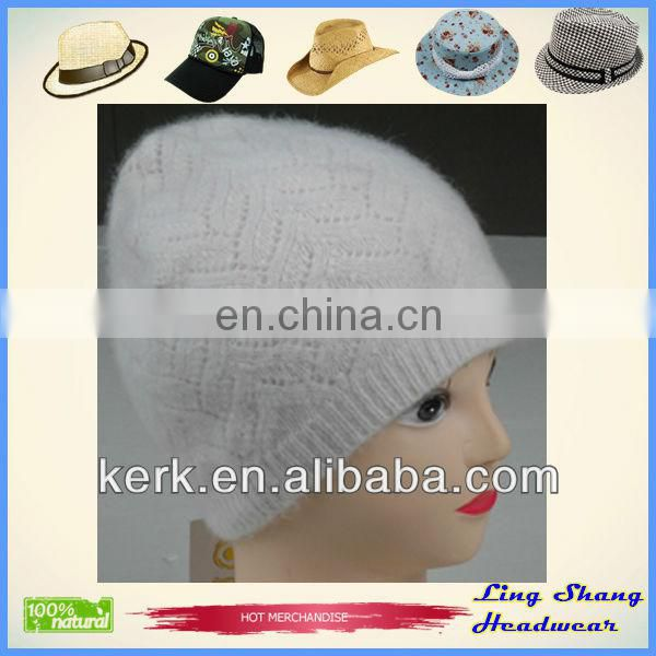 LSA09 Ningbo Lingshang Newest Fashion made from Angora manufacture sport cap