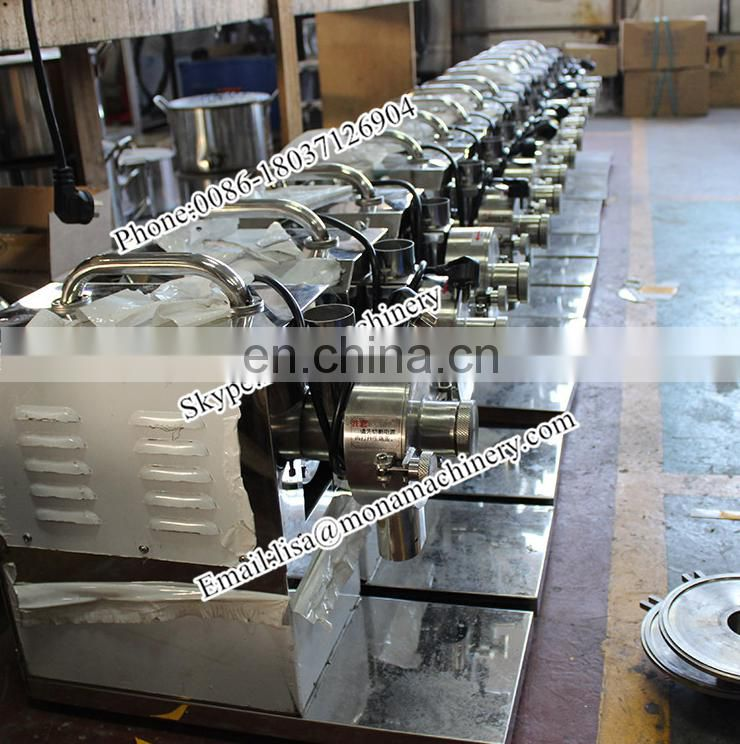 Hot selling stainless steel small grain milling machine grain mill