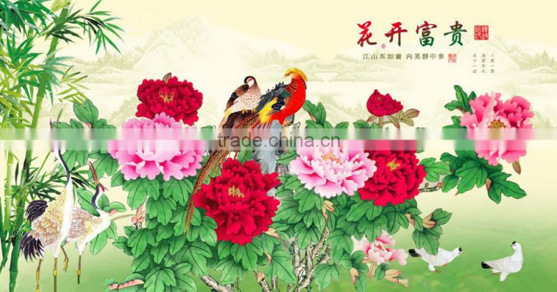 Manufacturer watercolor painting by number for home decoration