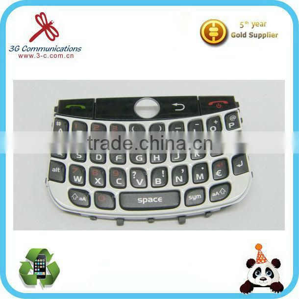 Original new mobile phone keypad for Blackberry Curve 8900 black English keypad for Blackberry BB 8900 keypad replacement