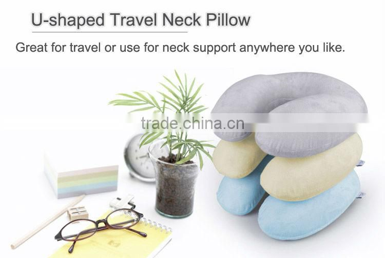 Alibaba Cheap 2016 High Standard custom neck pillow car personalized