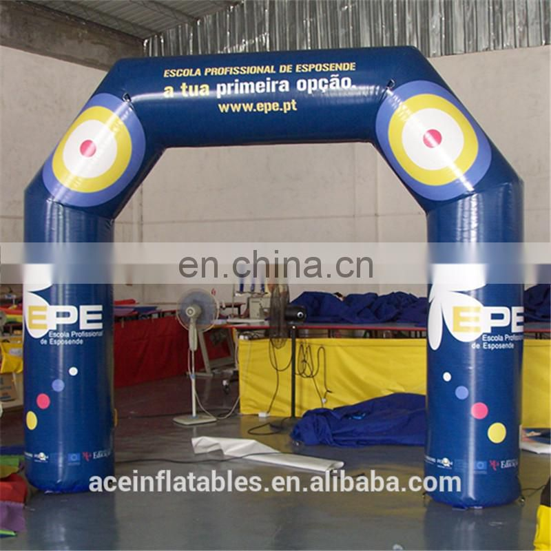 2017 Newest dark blue Inflatable Arch/Cheap Inflatable Arch for Sale