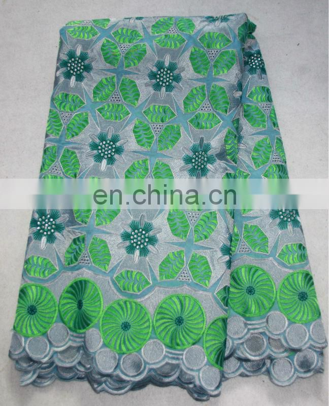 wholesale high quality african fabric lace ,african swiss lace fabric ,african cotton lace fabric